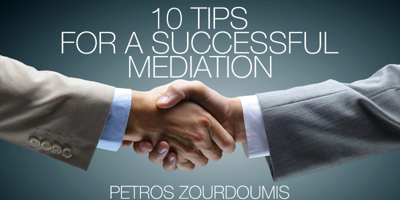 10 tips for a successful mediation