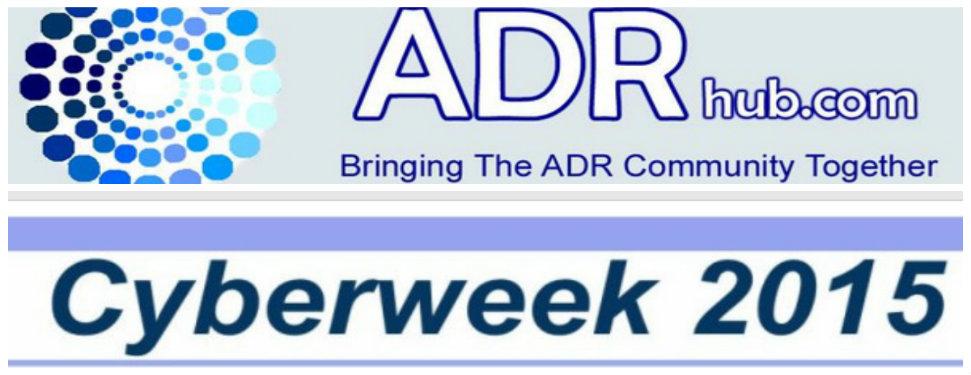Το ODReurope συμμετέχει στο CYBERWEEK 2015 του ADRhub και του Werner Institute USA