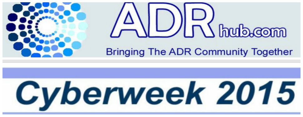 ODReurope participates in CYBERWEEK 2015 organized by ADRhub and Werner Institute USA