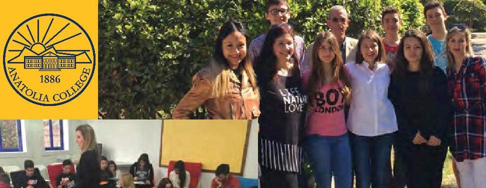 Πρόγραμμα Σχολικής Διαμεσολάβησης στο Αμερικανικό Κολλέγιο Anatolia