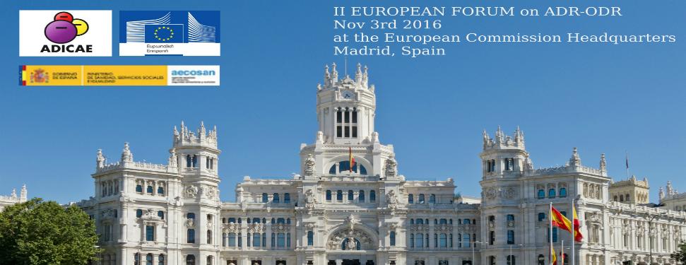 Το ADR point στο ADR European Forum της Μαδρίτης